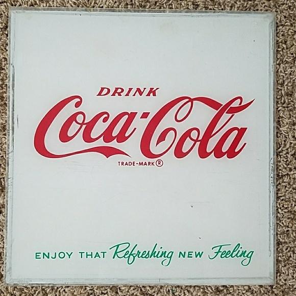 Vintage Coca Cola Collectors Wall Art   Poshmark